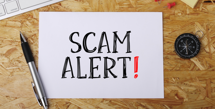 Protect yourself from poptential scam artists targeting those in need
